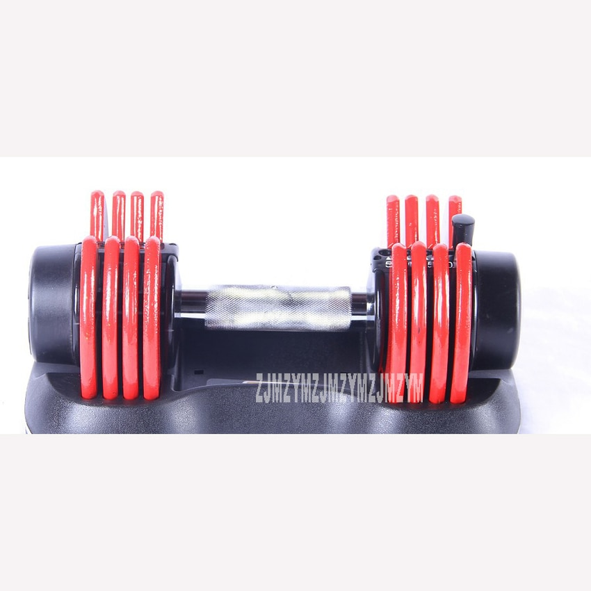 1PC 25LB Adjustable Dumbbell Fast Weight Adjustable for Men/Women Exercise Equipment Training Arm Muscle Fitness PVC Dumbbell